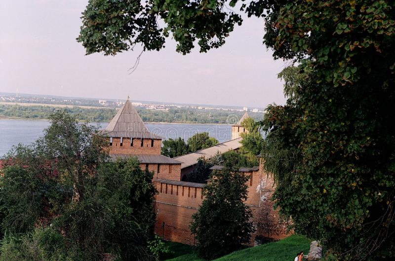 Kremlin de Nijni-Novgorod photo stock