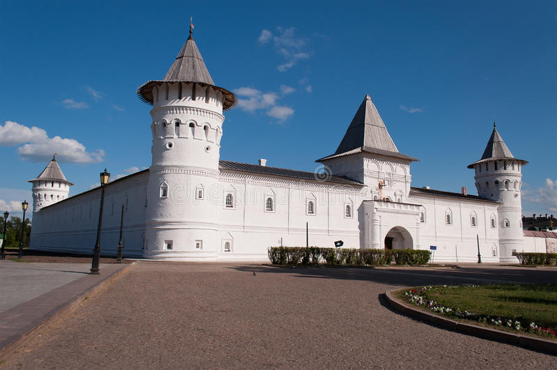 Kremlin de Tobolsk fotos de stock royalty free