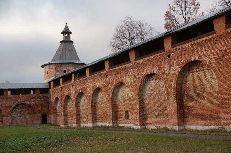 Kremlin de Zaraysk fotografia de stock royalty free