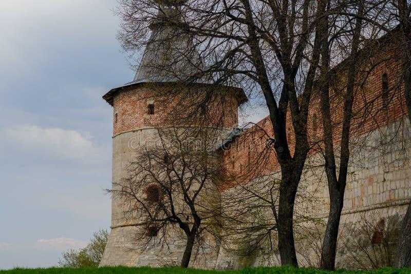 Kremlin de Zaraysk fotografia de stock