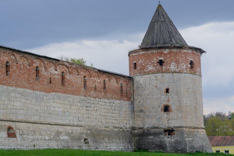 Kremlin de Zaraysk imagem de stock