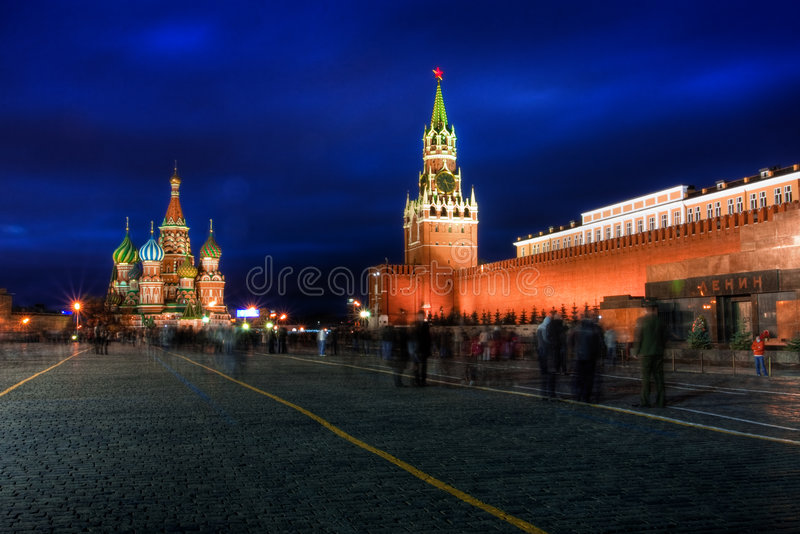 Kremlin e quadrado vermelho fotos de stock royalty free
