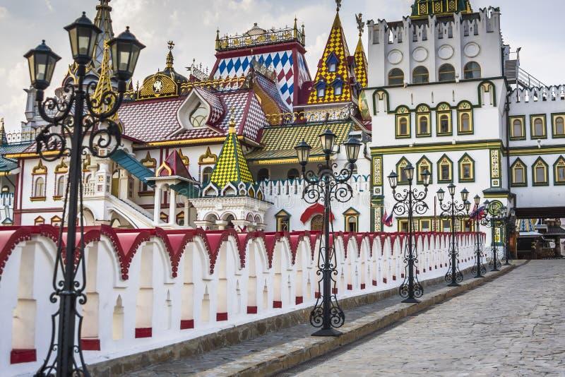 Kremlin em Izmailovo em Moscou, Rússia foto de stock