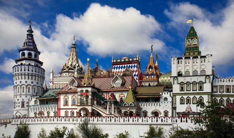 Kremlin em Izmailovo Rússia moscow céu verão imagem de stock