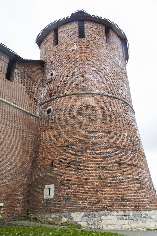 Kremlin em Nizhny Novgorod, Federação Russa imagem de stock