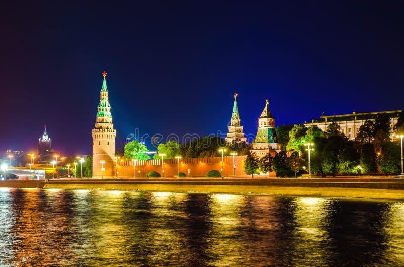 Kremlin Embankment imagem de stock