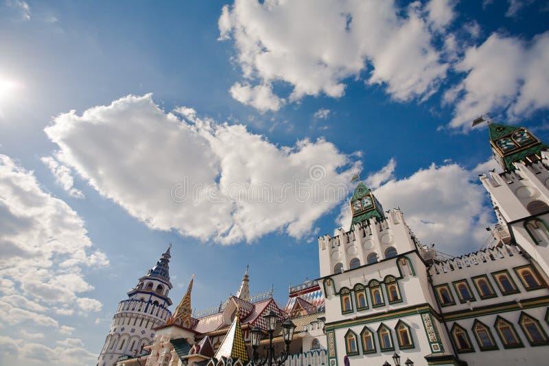 Kremlin en Izmailovo imagen de archivo libre de regalías