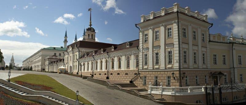 Kremlin en Kazan foto de archivo