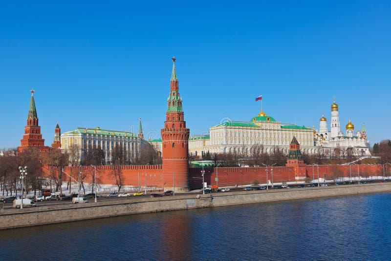 Kremlin en Moscú (Rusia) foto de archivo libre de regalías