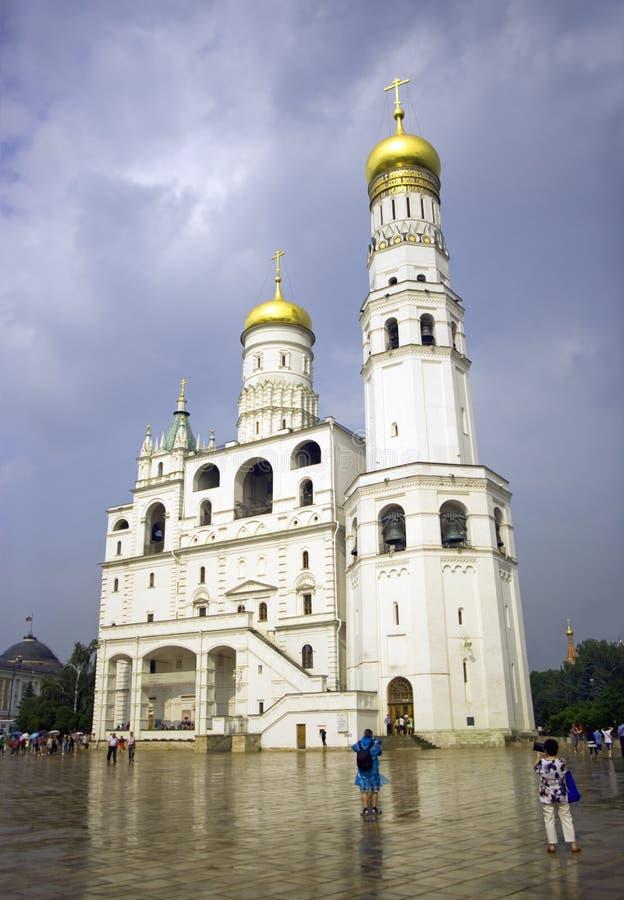 Kremlin Ivan de Moscou a grande torre de sino fotos de stock