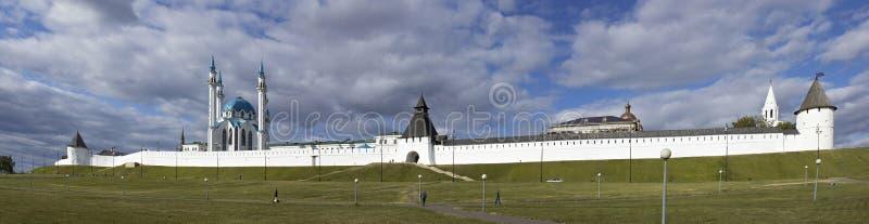 Kremlin in Kazan lizenzfreie stockfotografie
