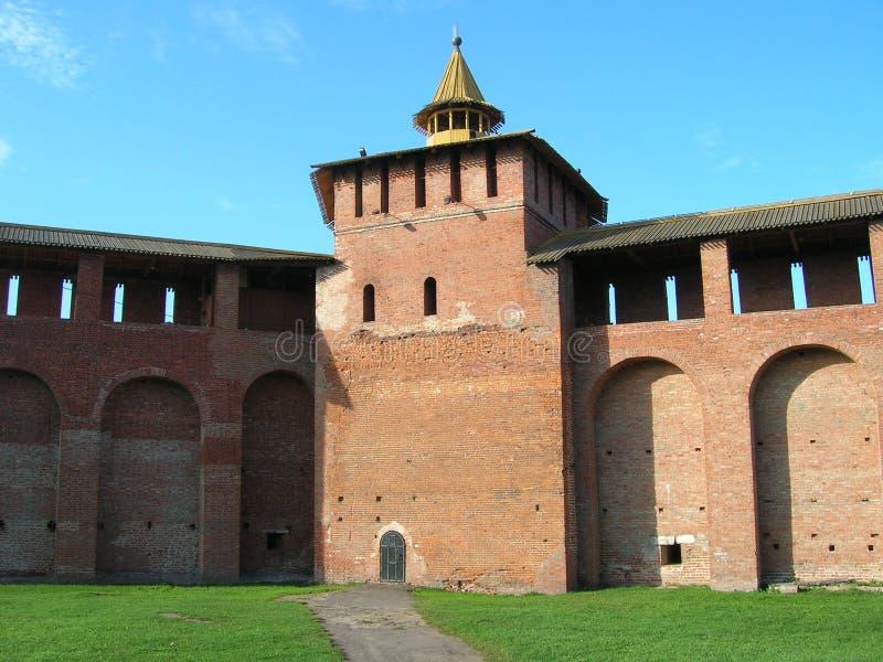 Kremlin of Kolomna royalty free stock photos