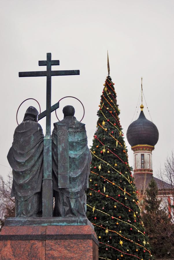 Kremlin in Kolomna, Russland Farbfoto stockbild