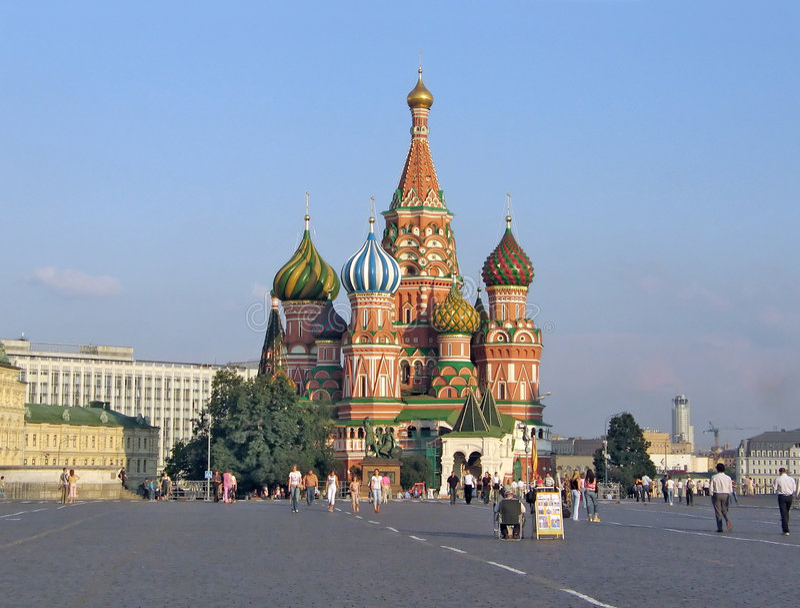 Kremlin. Lugar vermelho. fotografia de stock royalty free
