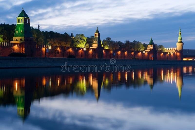 Download Kremlin morgon moscow fotografering för bildbyråer. Bild av lampa - 19776559