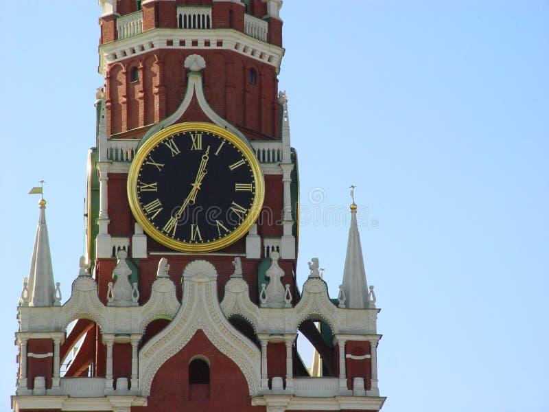 Kremlin a Mosca, Russia immagine stock libera da diritti