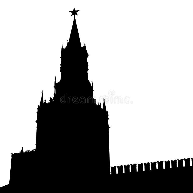 Download Kremlin moscow Россия иллюстрация вектора. иллюстрации насчитывающей силуэт - 40591201