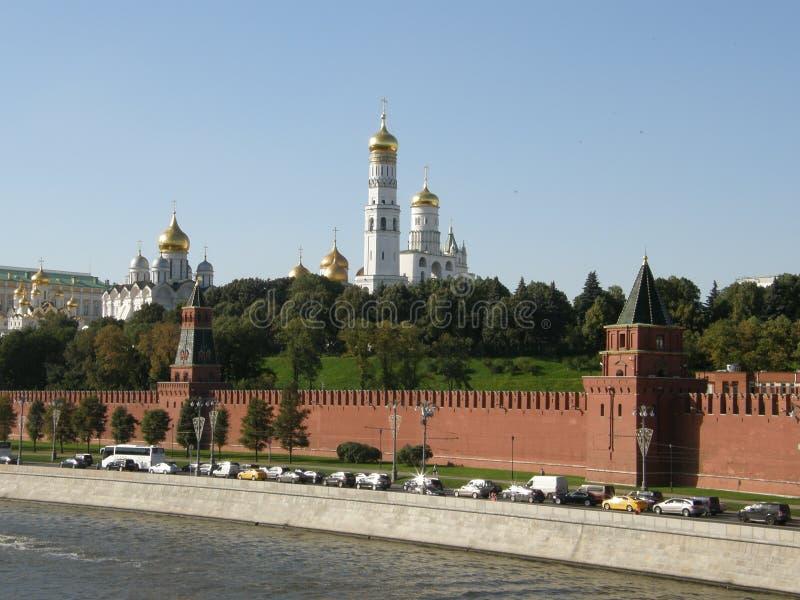 kremlin moscow royaltyfri bild
