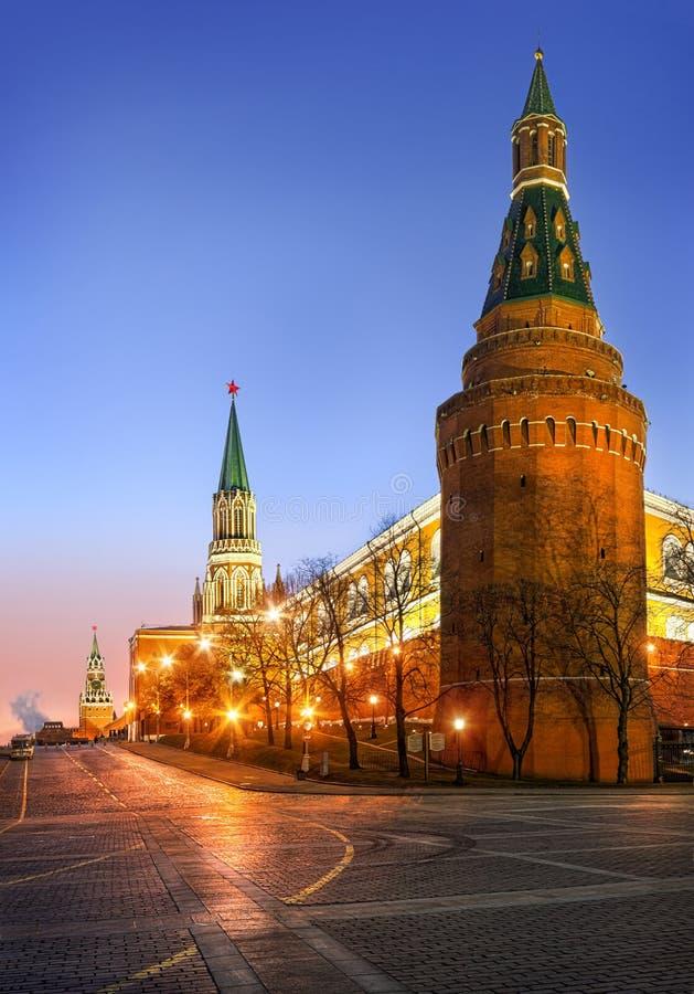 kremlin Moscow góruje obrazy royalty free