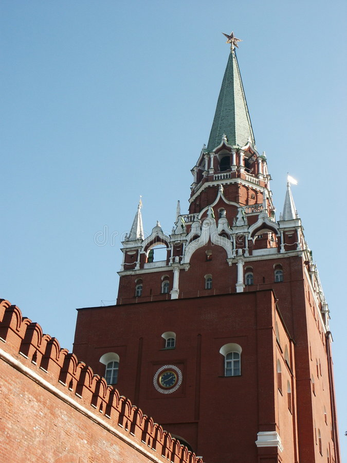 Kremlin (Moscow, Russia) royalty free stock photos