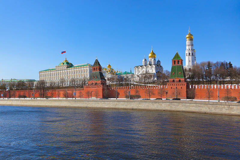 Download Kremlin in Moscow (Russia) stock photo. Image of russian - 33566082