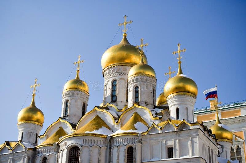 Kremlin, Moskau, Russland lizenzfreies stockbild