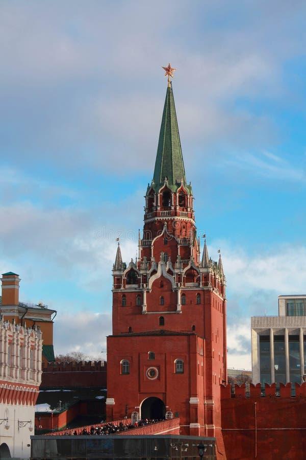 Kremlin na placu czerwonym zdjęcia royalty free