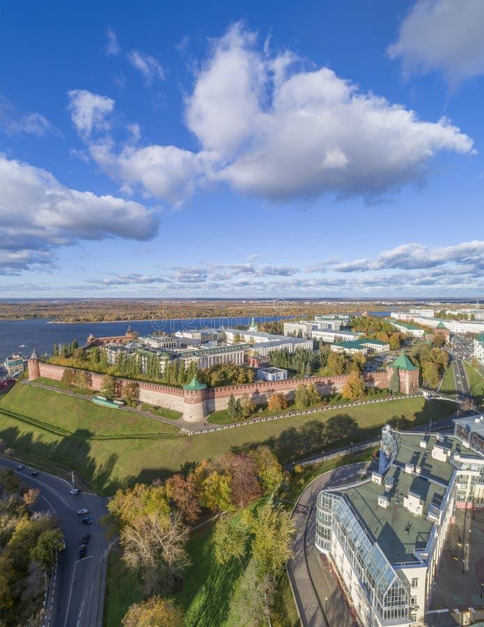 kremlin Nizhny Novgorod royaltyfri foto