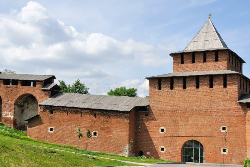 Kremlin no verão, Rússia fotos de stock royalty free