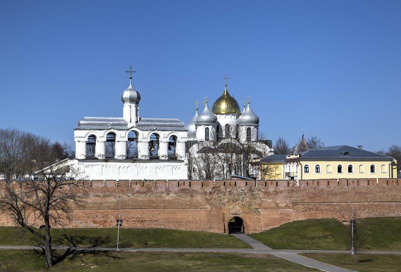 kremlin novgorod royaltyfri foto