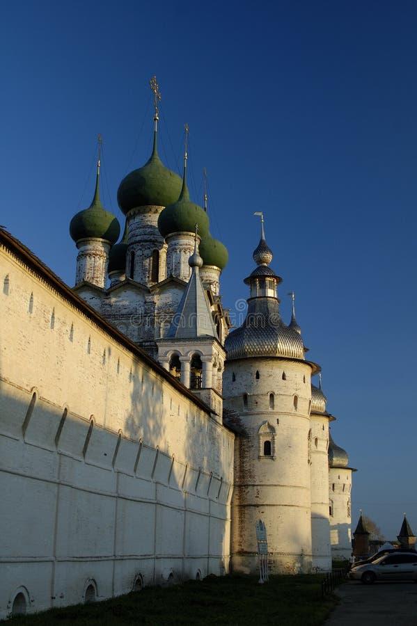 Kremlin por la tarde imágenes de archivo libres de regalías