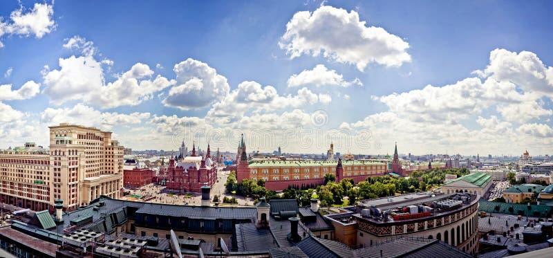 kremlin powietrzny widok zdjęcia stock