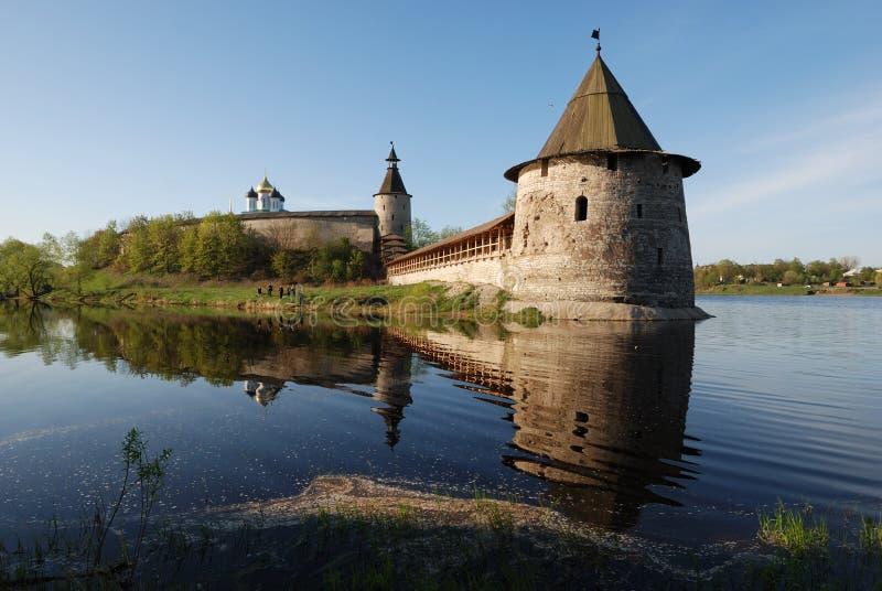 kremlin pskov russia arkivbilder