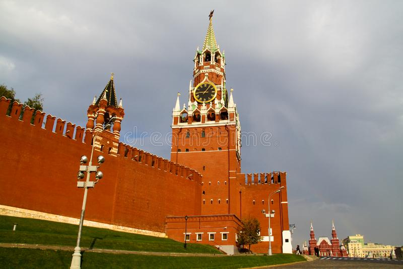 Download Kremlin on the Red Square stock photo. Image of ornate - 16117150