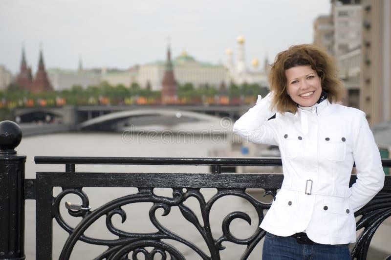 kremlin rosjanina kobieta zdjęcie stock