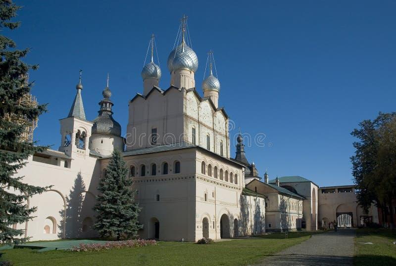 Kremlin. Rostov Veliky. Rússia foto de stock