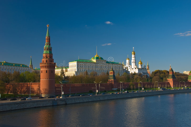 Kremlin in Russia immagine stock
