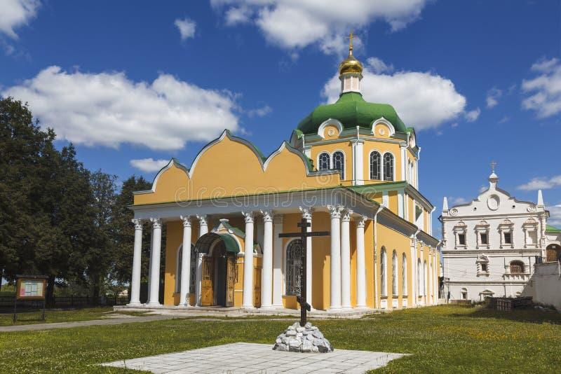 kremlin ryazan Domkyrka av Kristi födelse royaltyfri foto