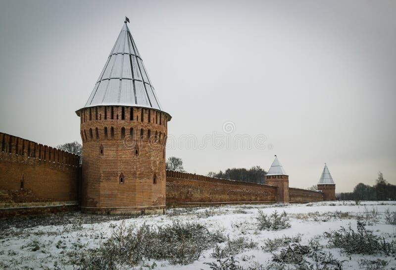 Kremlin Smolensk stock image