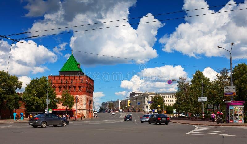 Download Kremlin Street At Nizhny Novgorod In Summer Editorial Stock Photo - Image: 25931558