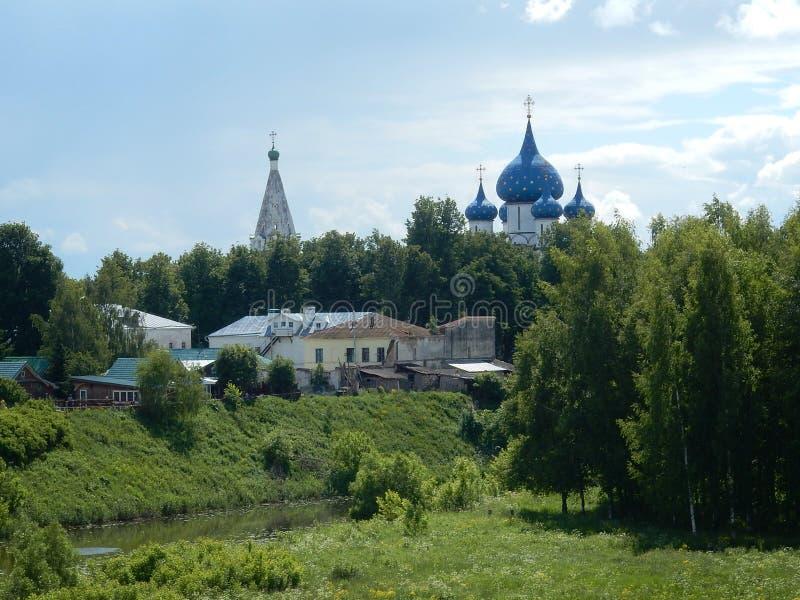kremlin suzdal fotografia stock