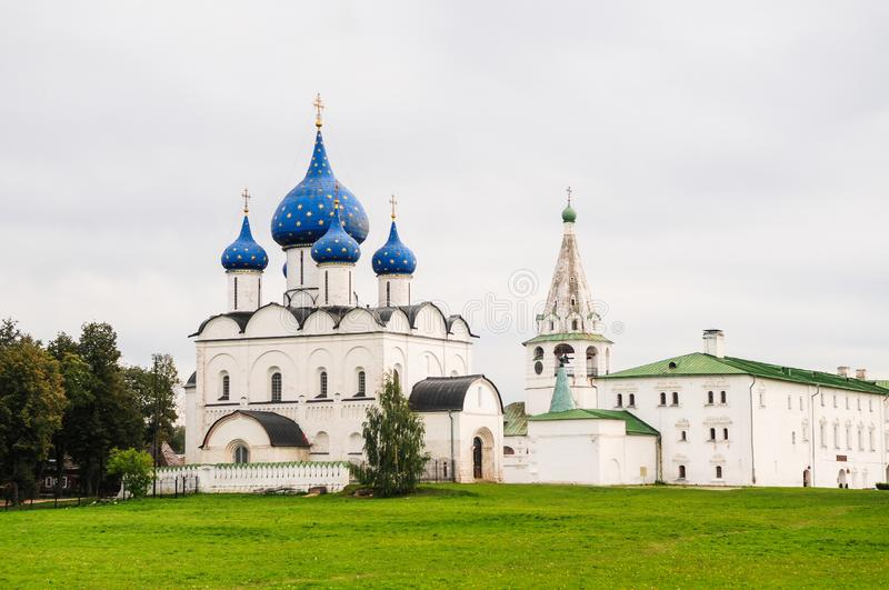 Kremlin in Suzdal, Russia royalty free stock photo