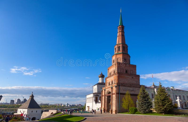 Kremlin Tartaristão Rússia de Kazan fotos de stock royalty free
