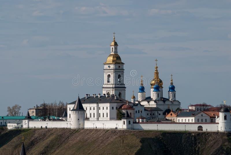 kremlin tobolsk royaltyfri fotografi