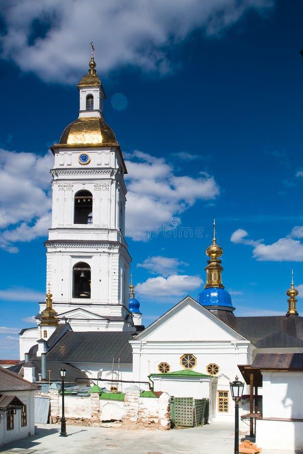 kremlin tobolsk arkivbilder