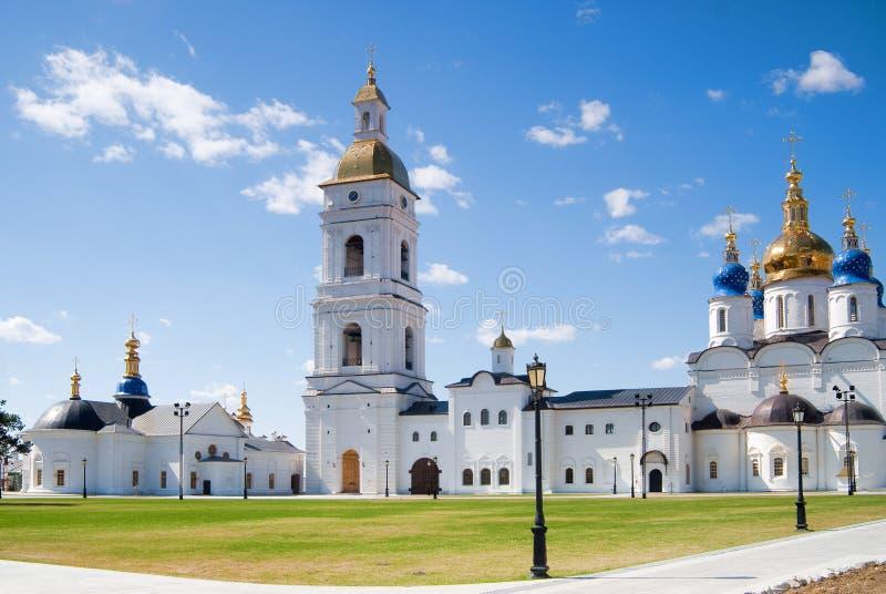 kremlin tobolsk royaltyfri foto