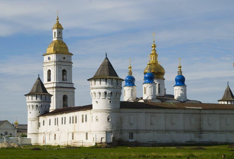 kremlin tobolsk fotografering för bildbyråer