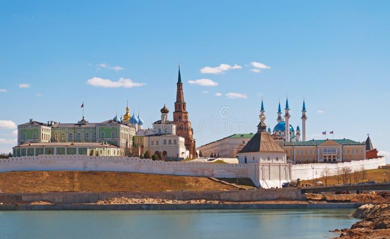 Kremlin w Kazan. Rosja zdjęcia stock