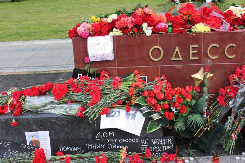 At the Kremlin wall stock image