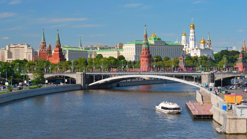 kremlin widok Moscow fotografia royalty free